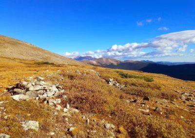 Longs Peak in the far distance