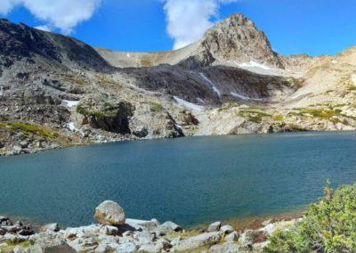Panorama of Blue Lake