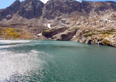 Blue Lake and Pawnee Peak
