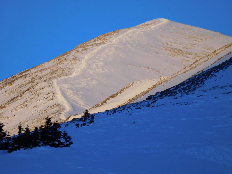 Sunrise on Quandary Peak