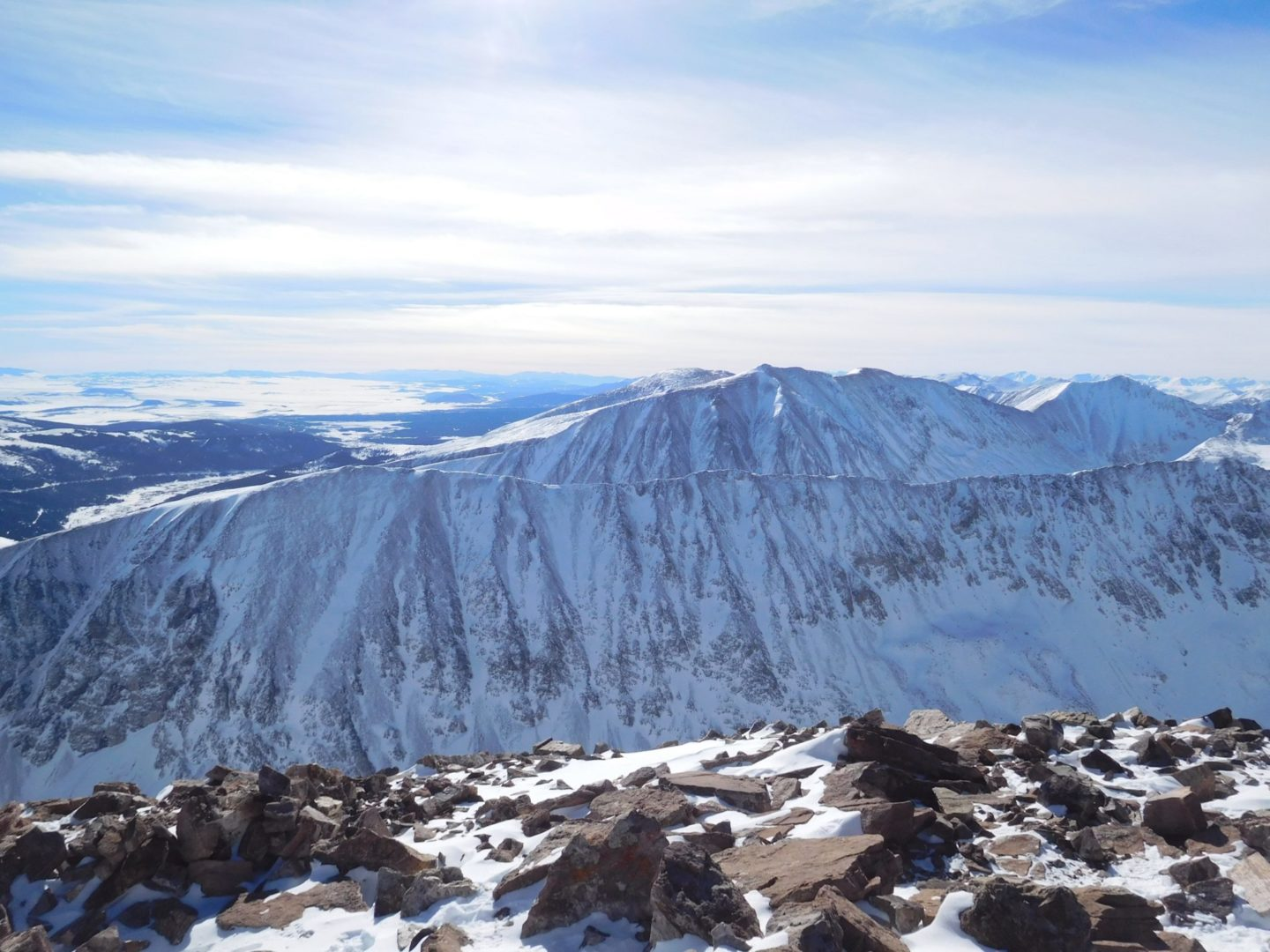 Summit view of Northstar Mountain