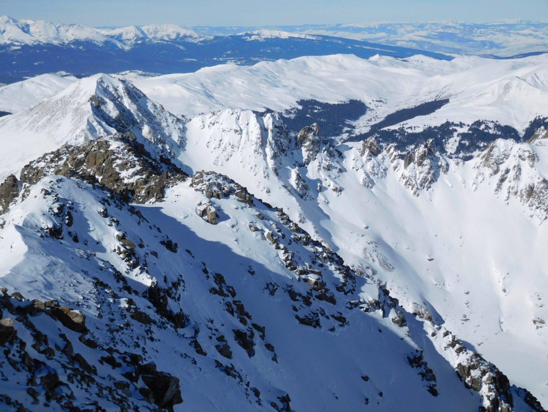 Summit views west