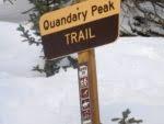 Quandary Peak trail