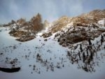 Jagged peaks above Emerald Lake