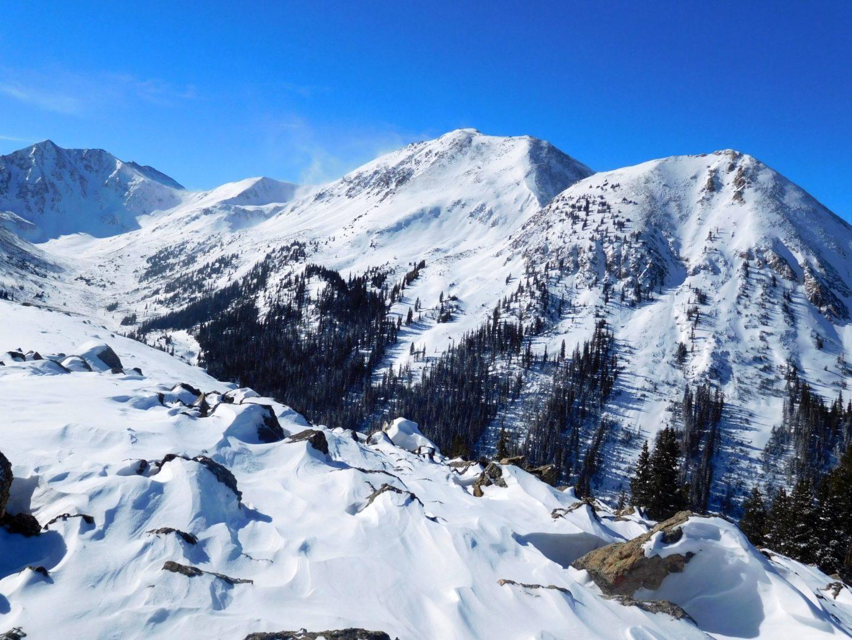 A glimpse of the Sawatch Mountain Range