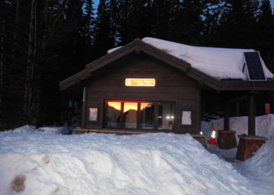 Bear Lake ranger station