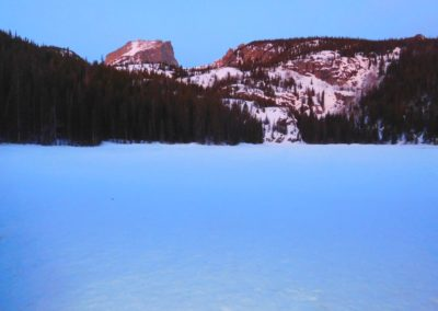 Bear Lake and Hallett Peak