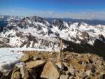 Huron Peak view of the Three Apostles
