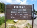 North Americas highest road