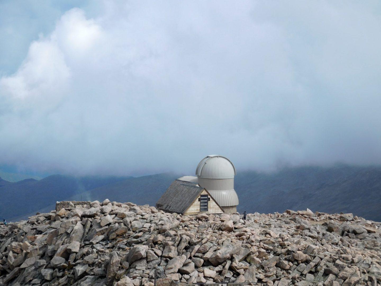 Observatory on Mt Evans