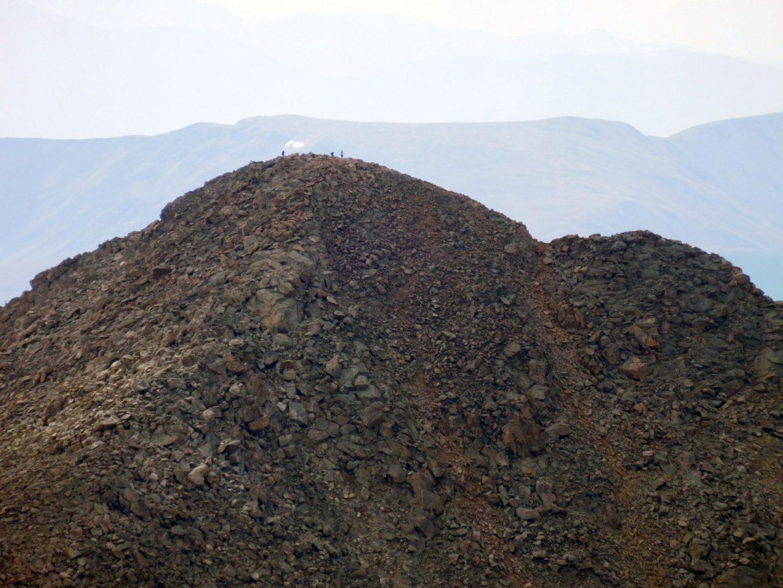 View of Mt Evans summit