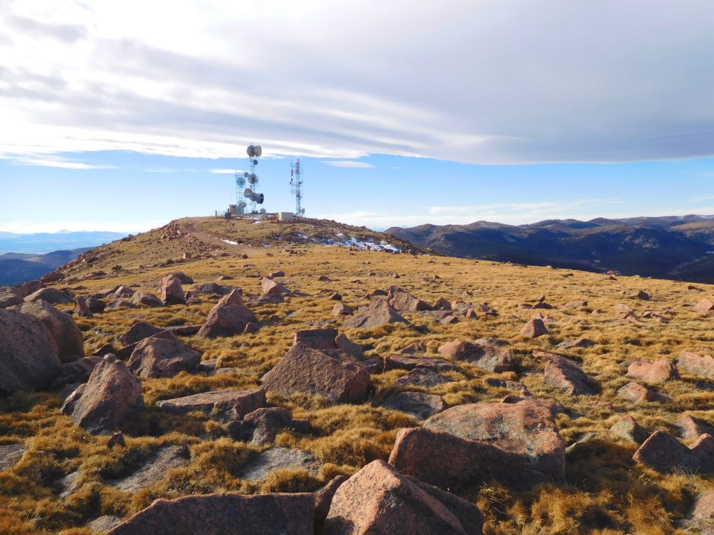 Repeater on Almagre Mountain