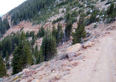 Road near the gate
