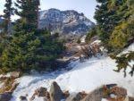 View of Broken Hand Peak (13,573