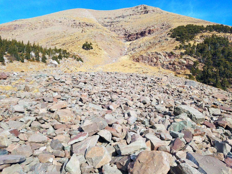 Humboldt Peak to the north