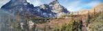 Panorama of Broken Hand Peak and Crestone Needle