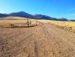 No foothills in the Sangre de Cristo mountains