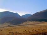 View of the Sangre de Cristo Mountains
