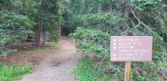West Peak Trailhead