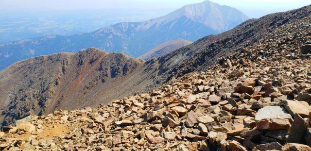 View of East Spanish Peak (12,684