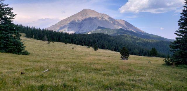 View of West Spanish Peak (13,625