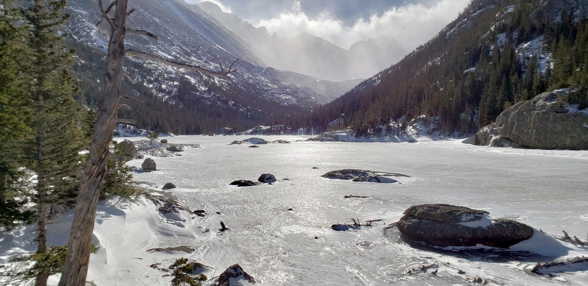 Mills Lake, Glacier Gorge