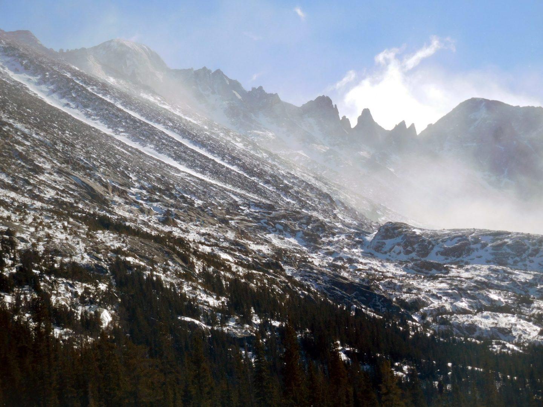 Longs Peak, Keyboard of the Winds, and Storm Peak