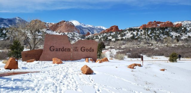 Entrance to Garden of the Gods