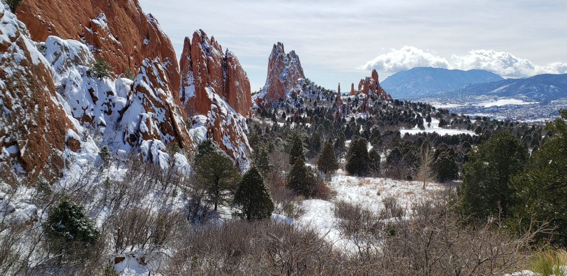 Garden of the Gods (6,400′)          Front Range