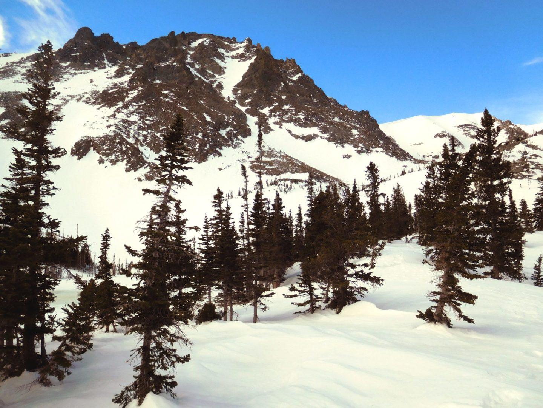View of Flattop Mountain