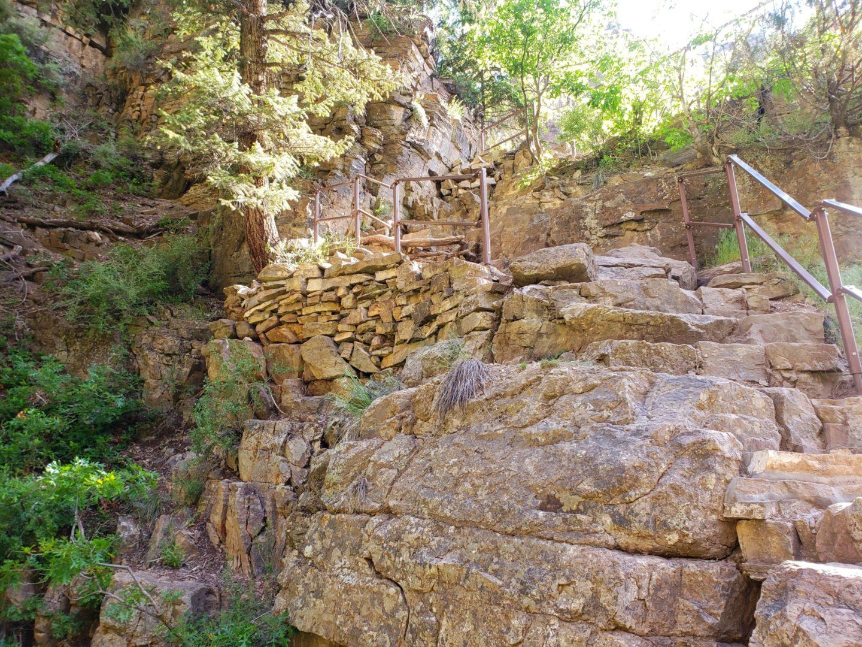 Trail near Hanging Lake