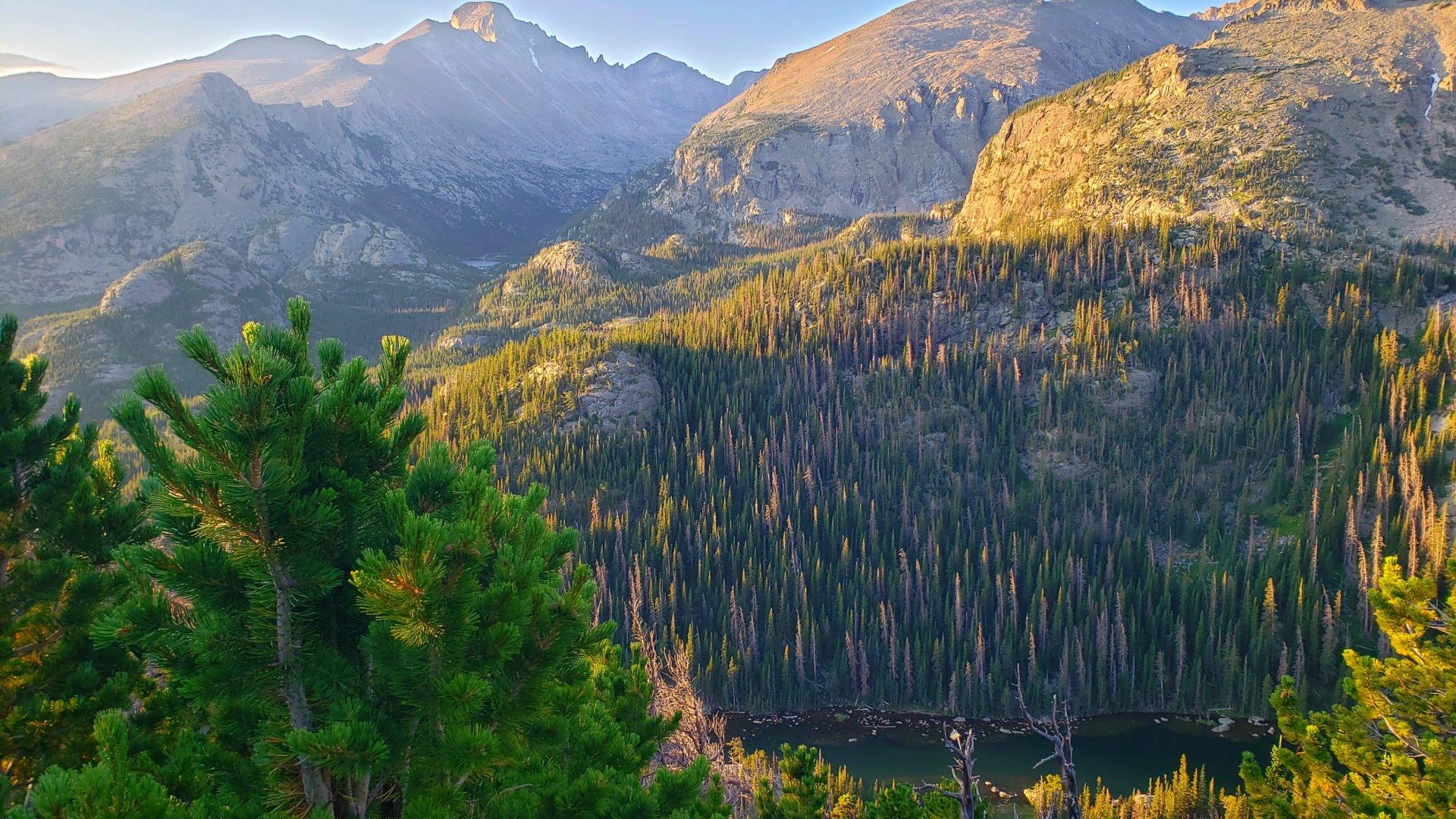 Permalink to: Hallett Peak 12,713′