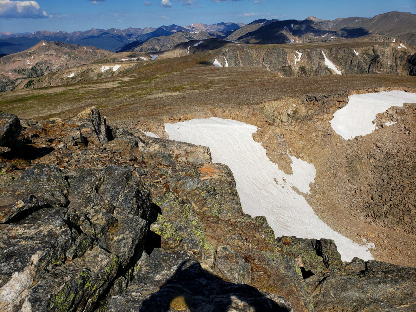 Flattop Mountain and Tyndall Glacier