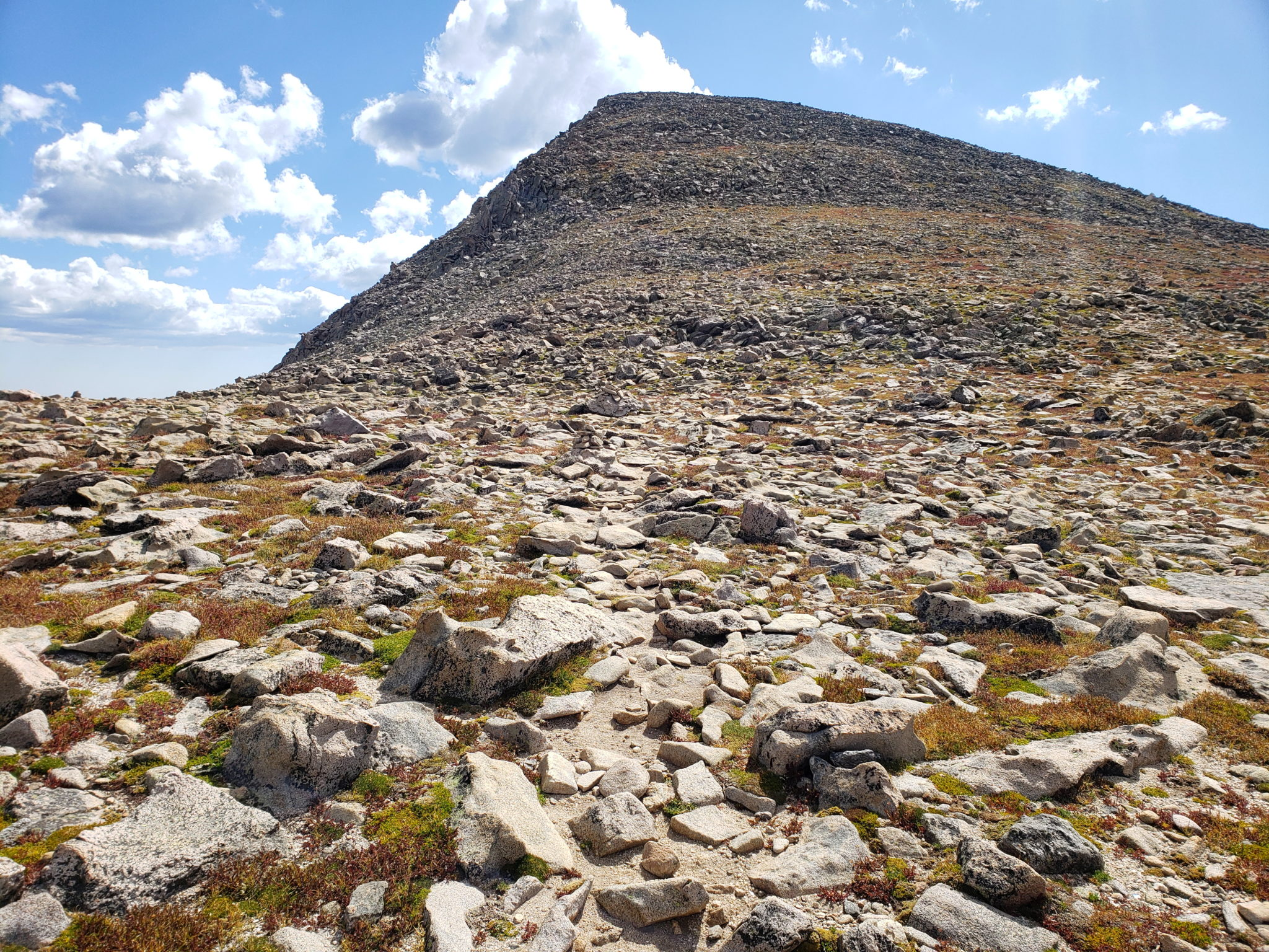 Hallett Peak summit (12,713