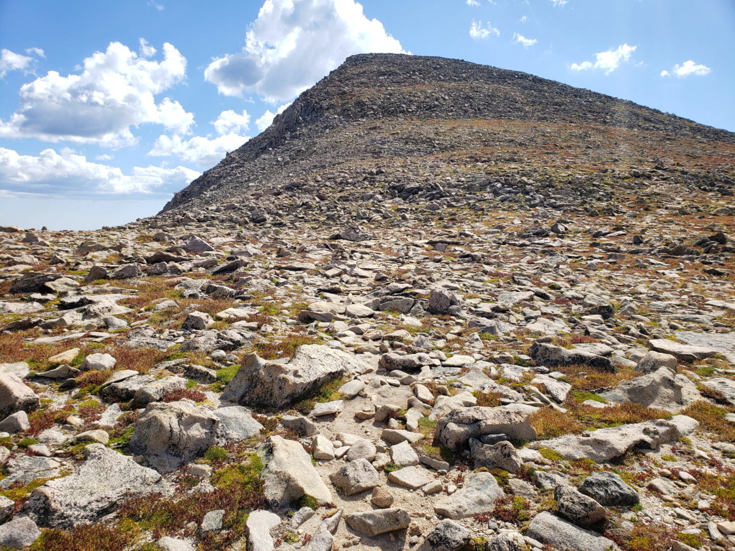 Hallett Peak summit (12,713')