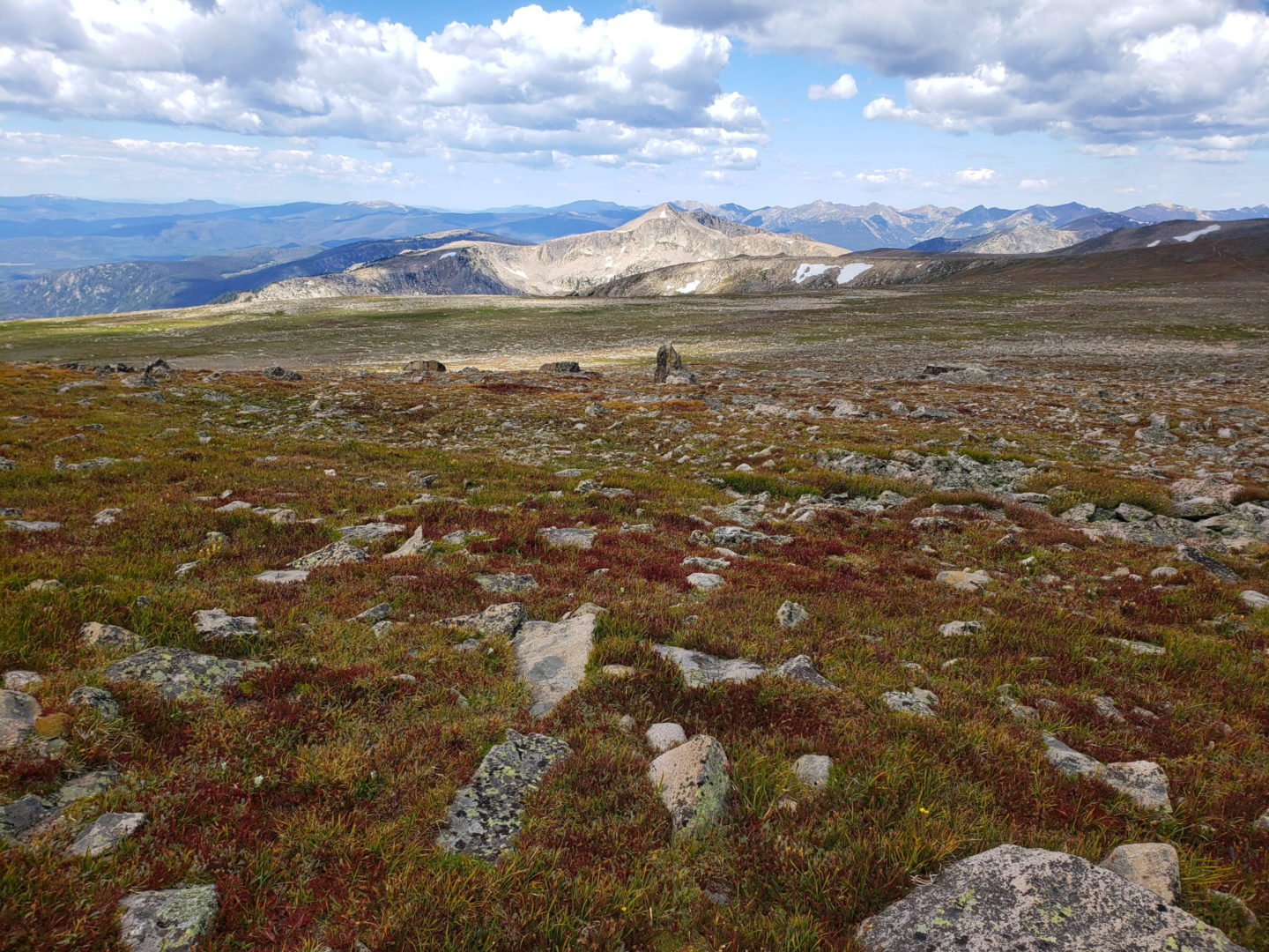 View along the Continental Divide