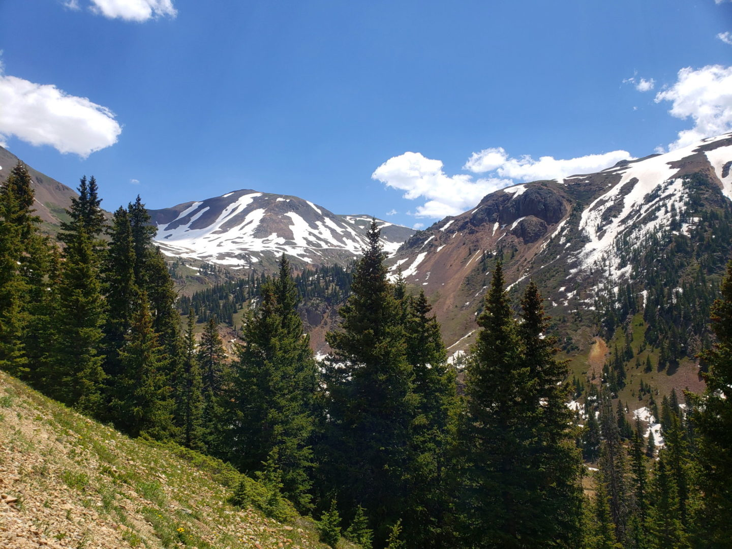 View from SH110 above Silverton