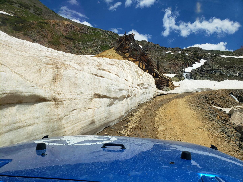 Snowdrift Mine ore chute