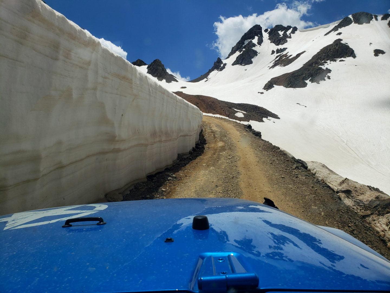 Near the summit of California Pass