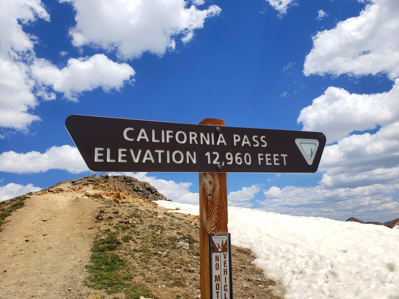 California Pass, 12,960'