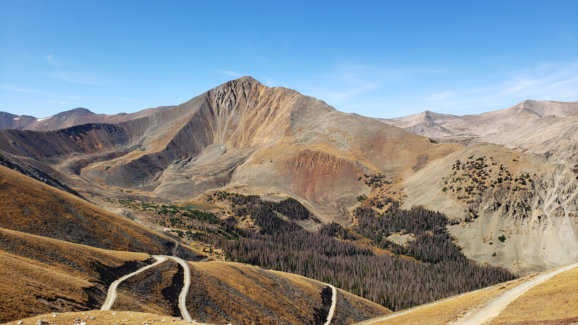 Permalink to: Mt Antero (14,269′) and Mt White (13,667′)