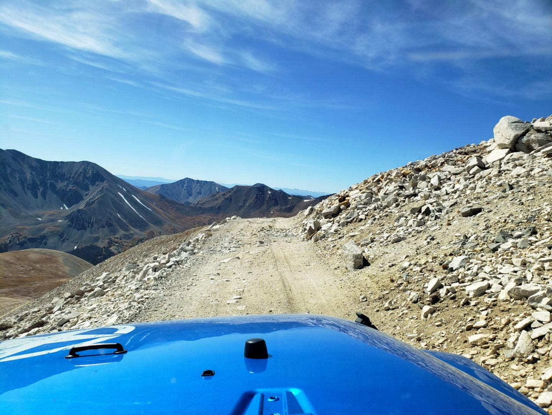 Near the summit of PT 13,800'
