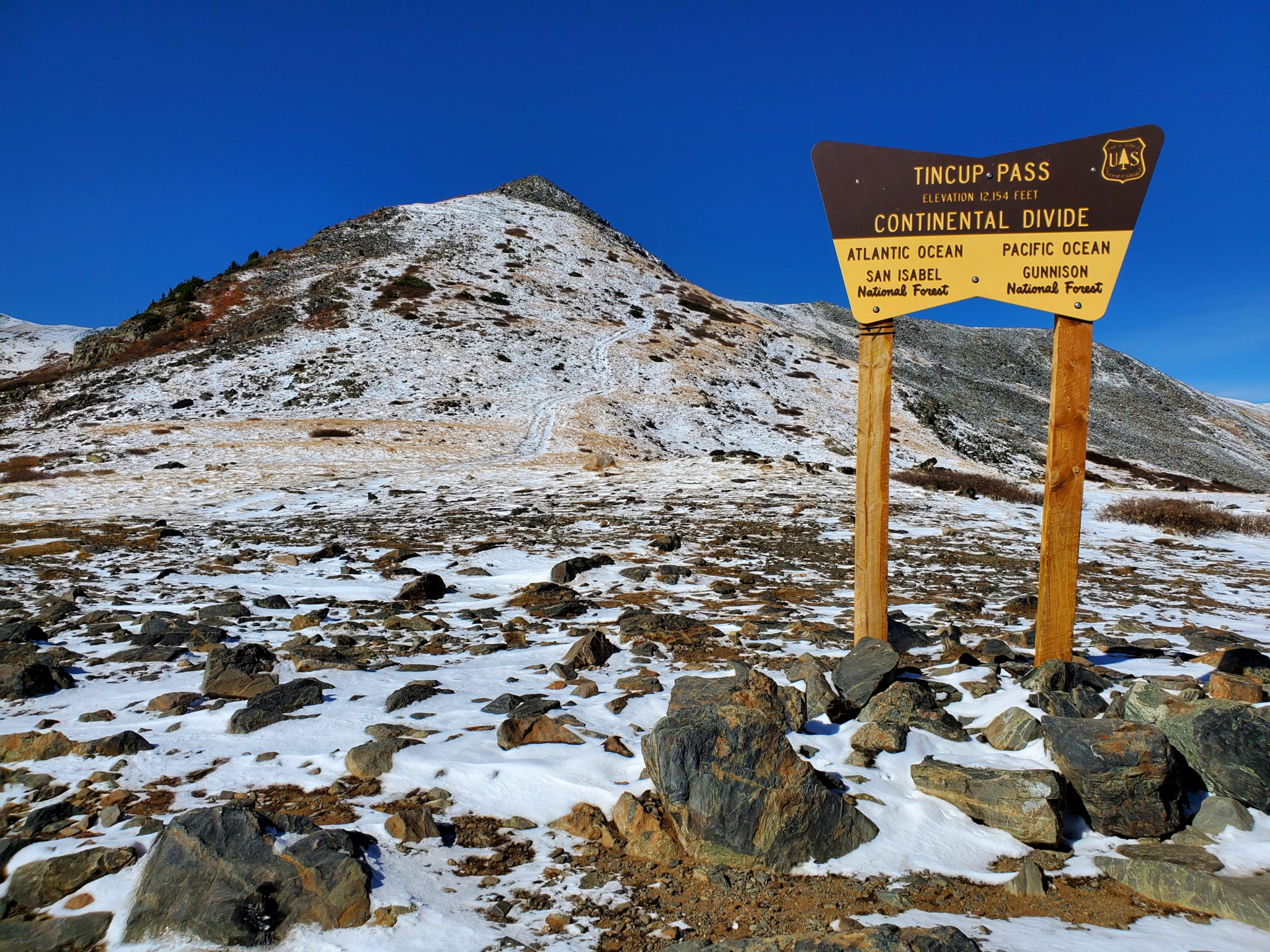 Tincup Pass 12,154