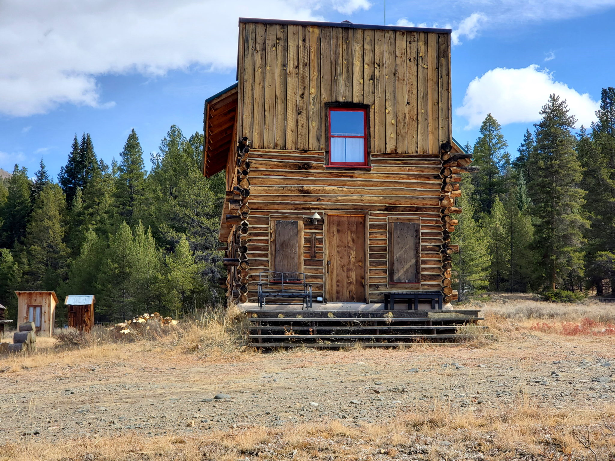 Historic Ranger Station in Tin Cup