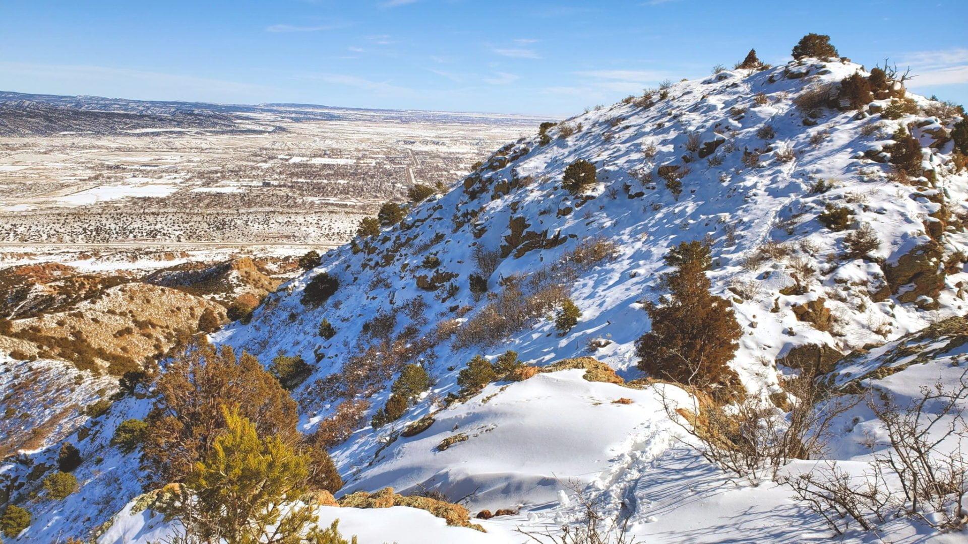 View of Fremont Peak summit