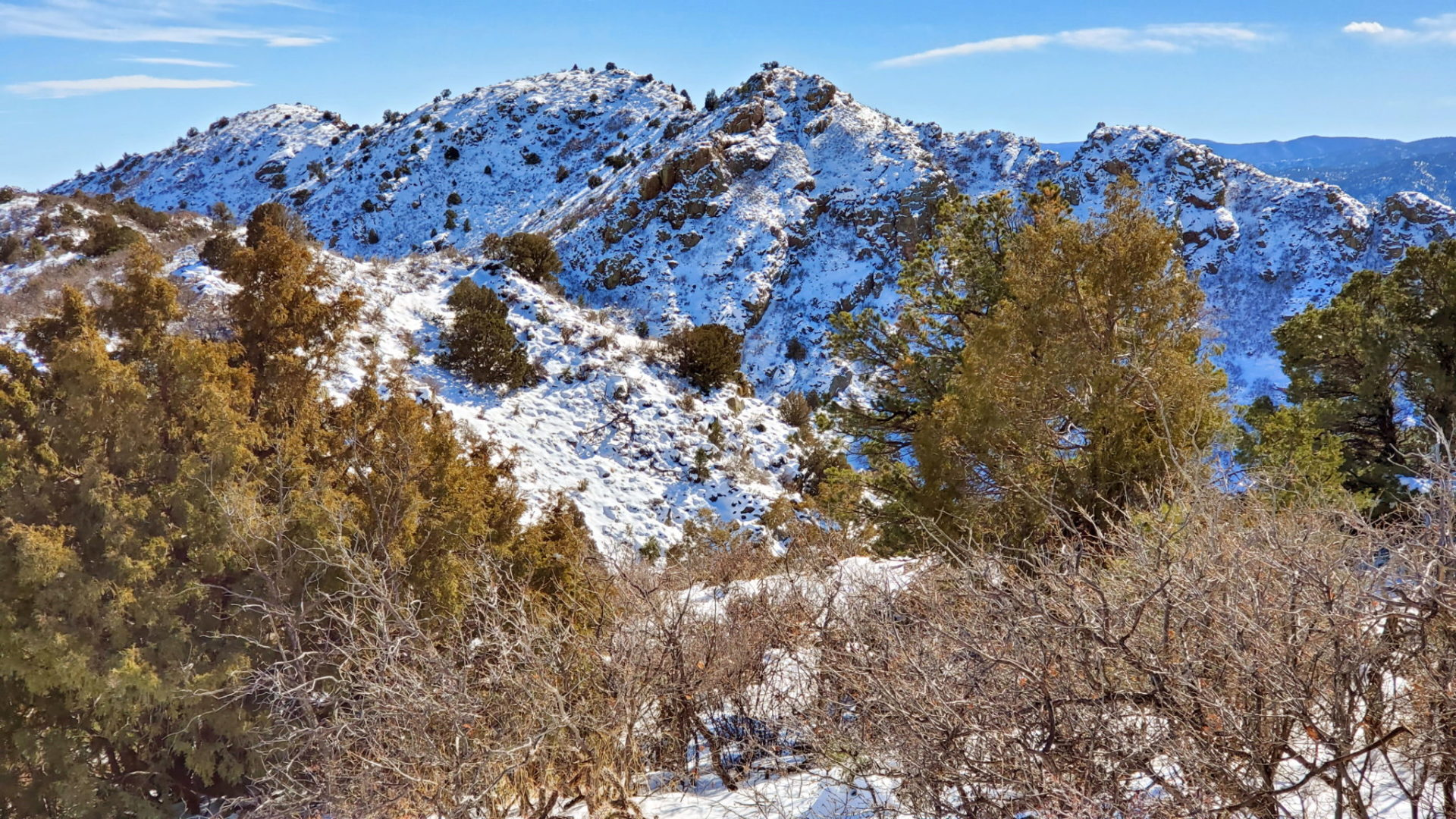 View of Fremont Peak from the trail