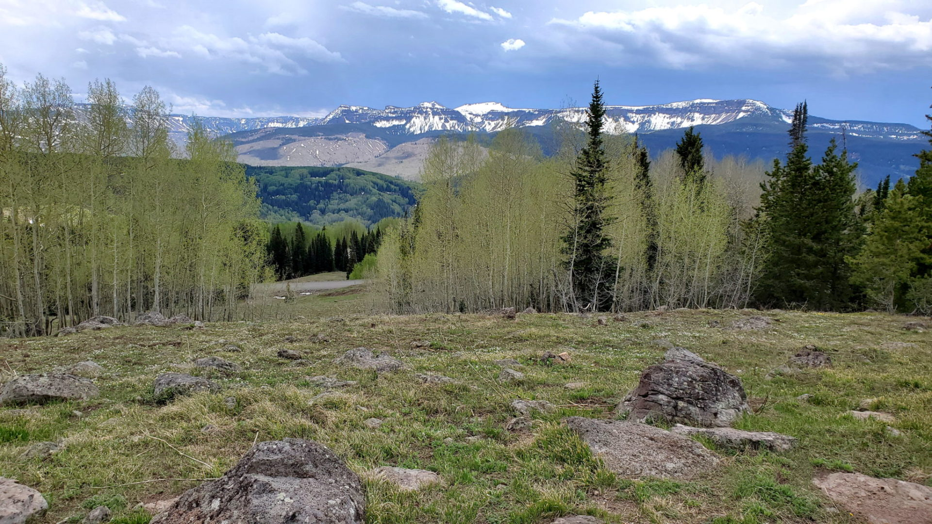 View from Ripple Creek Pass