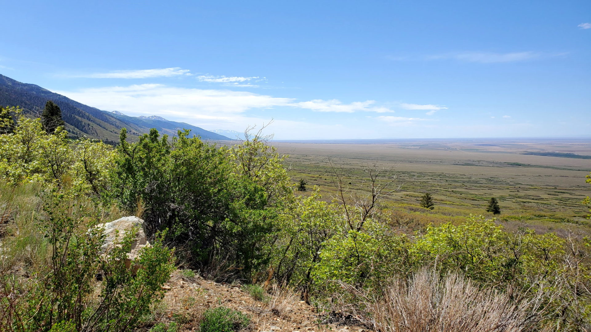 View of the San Luis Valley