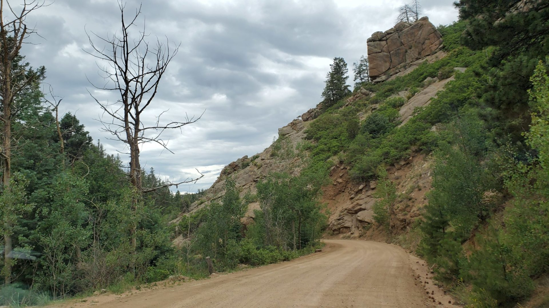 Approximately 23 miles from Cripple Creek to Canon City