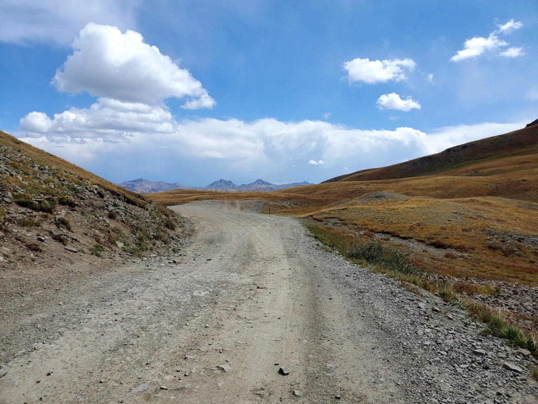 Stony Pass summit looking east